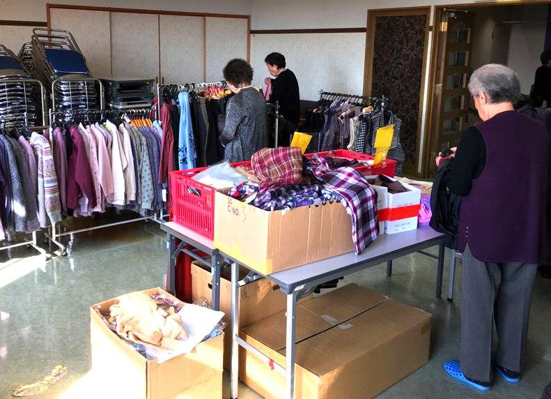 生活衣料・移動販売 ジョイナス・ナカムラ 事業内容の写真